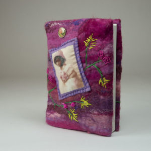 Vilt Notebook Big Purple